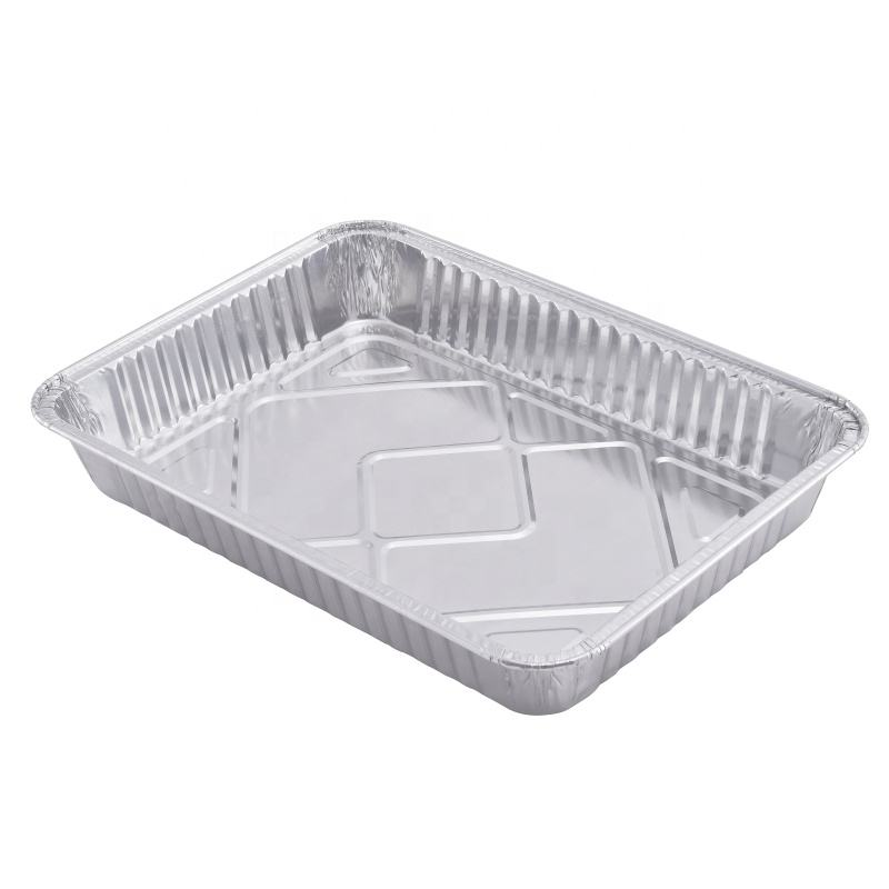 Catering Essentials Disposable Half Size Aluminum Foil Pan 1/2 Steam Table Tray