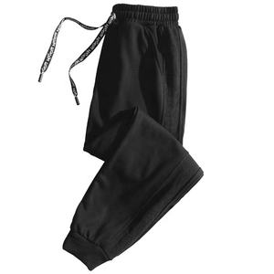 Hot Sell School Style Pants Elastic Drawstring Waist Trousers Straight Leg Pants Baggy Sweatpants