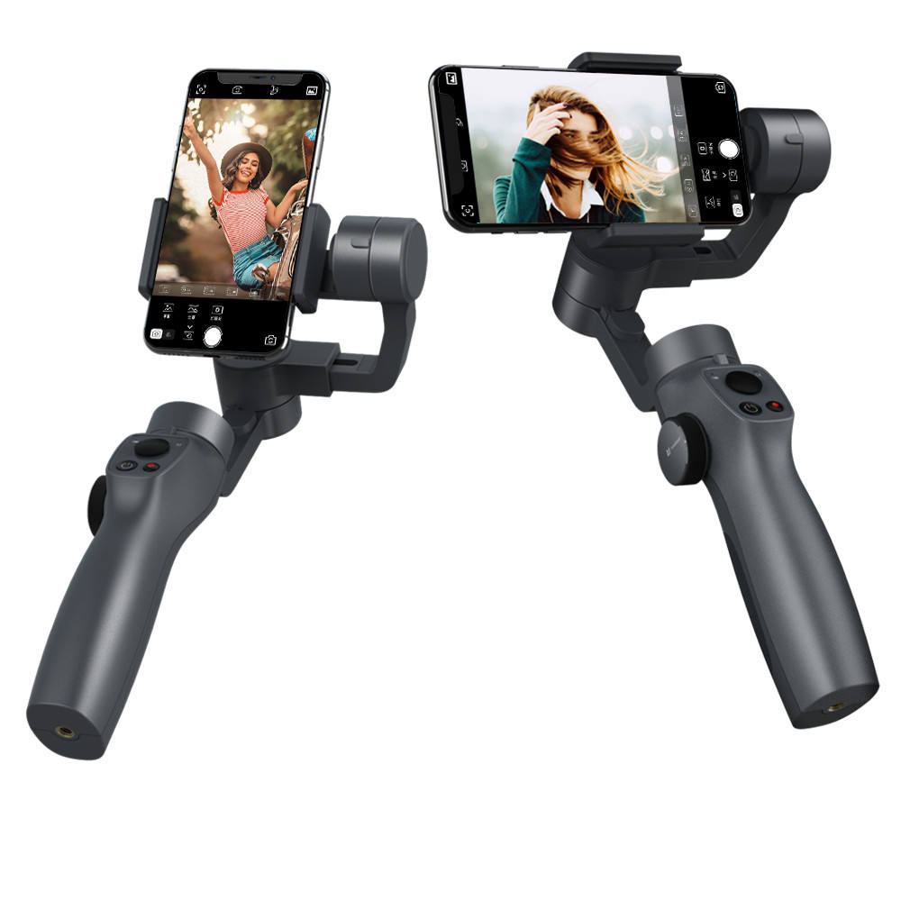 Amazon Popular Phone Stabilizer 3 Axis FPV Zoomwheel Smartphone Gimbal Stabilizer Vlog YouTube Live Video for iPhone Android