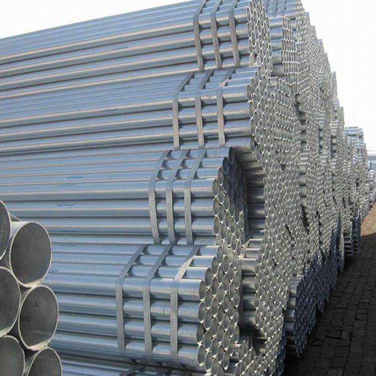 Factory price of 1 inch iron pipe galvanized for Irrigation Construction