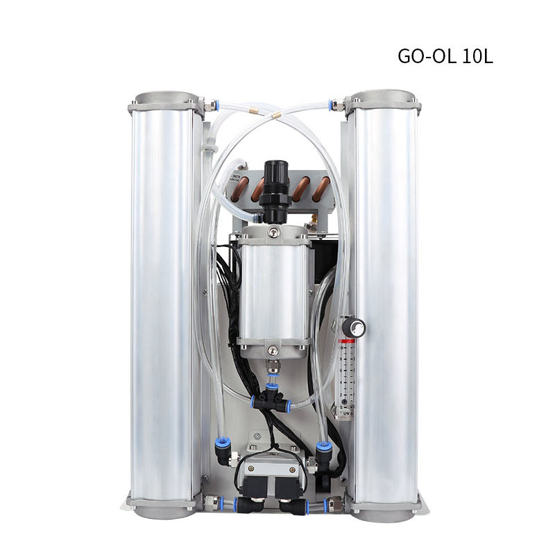 High purity 90% intergrated oxygen concentrator without housing including air compressor set