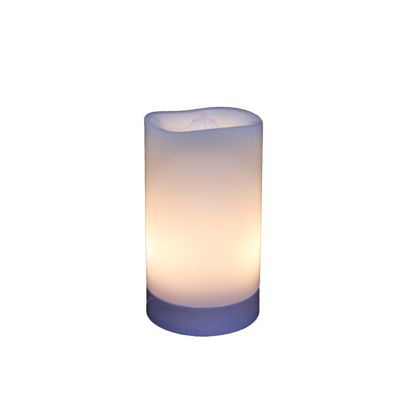 Wave tip cylindrical white candle shell electric drive spray humidifier essential oil aromatherapy diffuser
