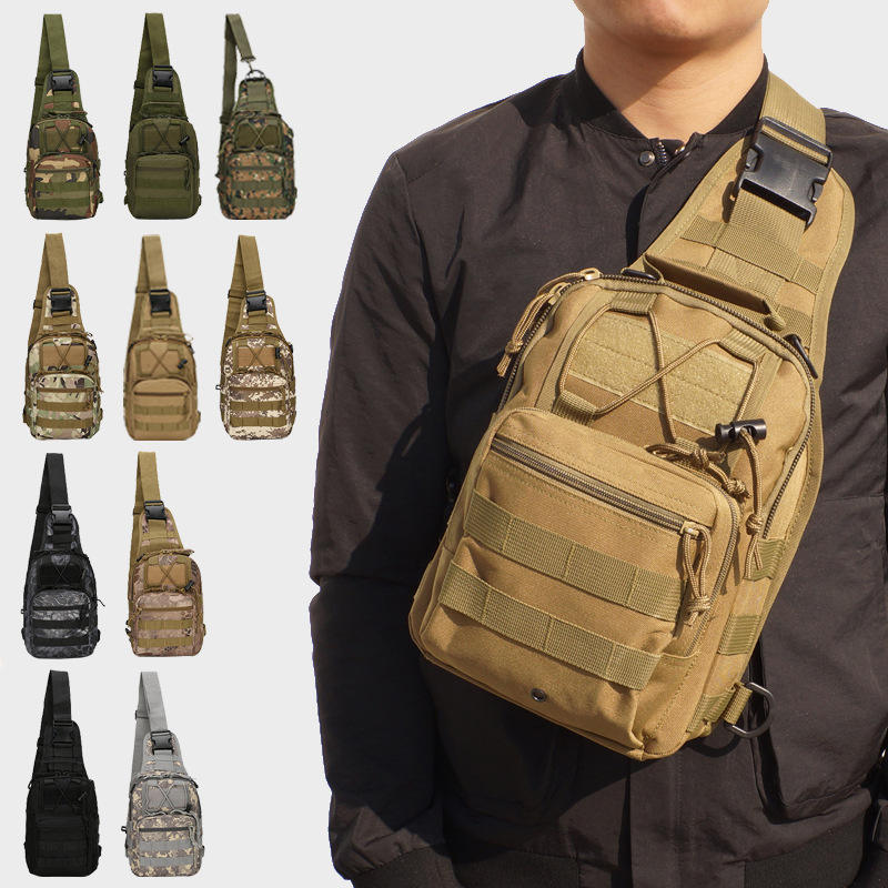 Outdoor sports shoulder army military sling bag tactical sling bag