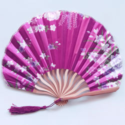 wholesale japanese bamboo folding wedding fans