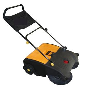 Manual sweeper hand push sweeper industrial powerless sweeper 750Outdoor park road, various ground, various garbage