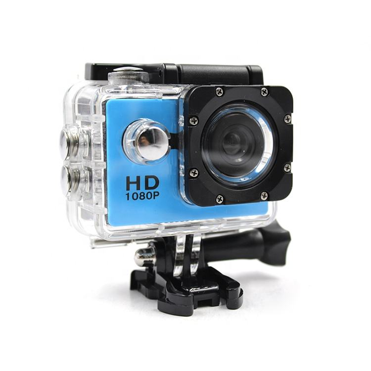 "Gratis Monster Hd 720P Digitale Waterdichte Helm Video Camera Onderwater 30M 2 ""Lcd Sport Actie Camera"