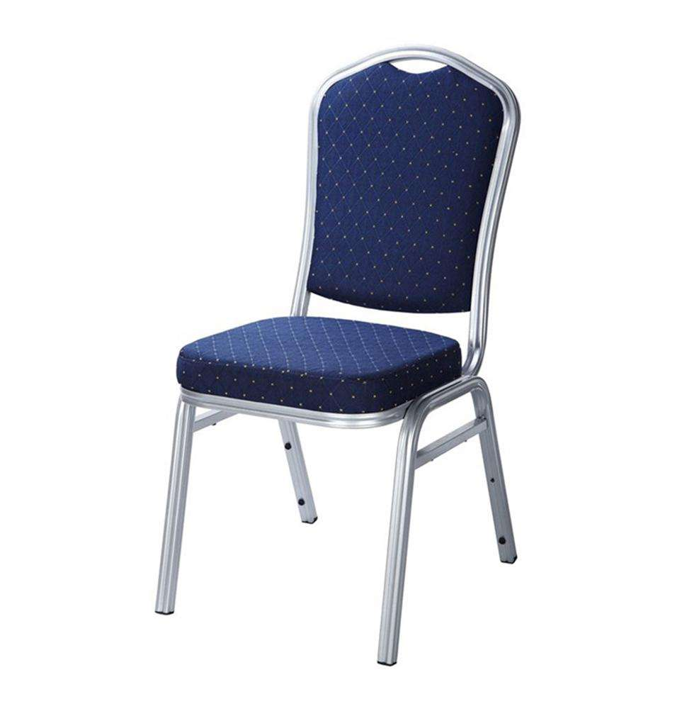 Cheap Used Sponge Seat Powder coat Metal Frame Church Chair for worship service