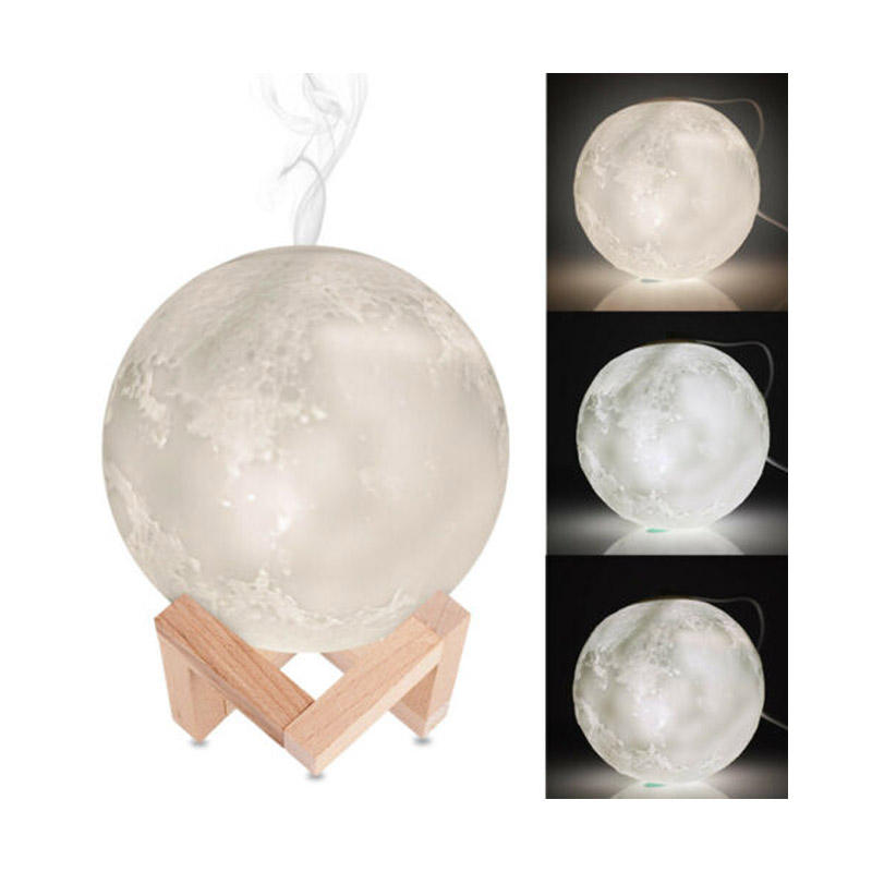Best Selling Moon Lamp 3d Night Light Humidifier Ultrasonic Aroma Diffuser For Mist Maker Buy Cute Humidifier Fancy Humidifier Ultrasonic Humidifier Product On Alibaba Com
