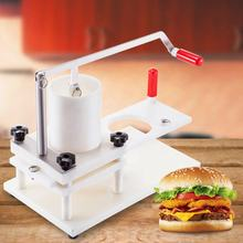 High Efficiency Commercial Hamburger Patty Maker Manual Burger Forming Machine (5inch Burger) 130MM