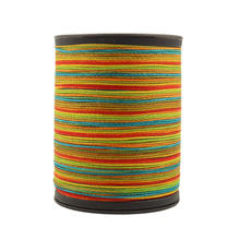 210d/3 New round wax thread Leather Craft Thread Polyester Hand Sewing Line DIY Cord, Economy International Shipping