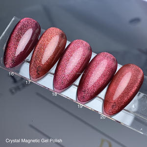 Wholesale Free Sample Private Label Silver Cat Eye Gel Polish High Quality Crystal Magnetic UV Gel Polish Nail
