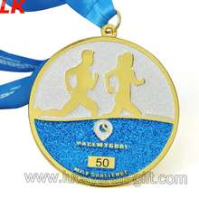 New custom production cheap named 3D mold gold medals for sale