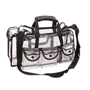 Sport Gym Bag PVC Clear Travel Duffel Makeup Bag,Cosmetic Organizer Case with Shoulder Strap