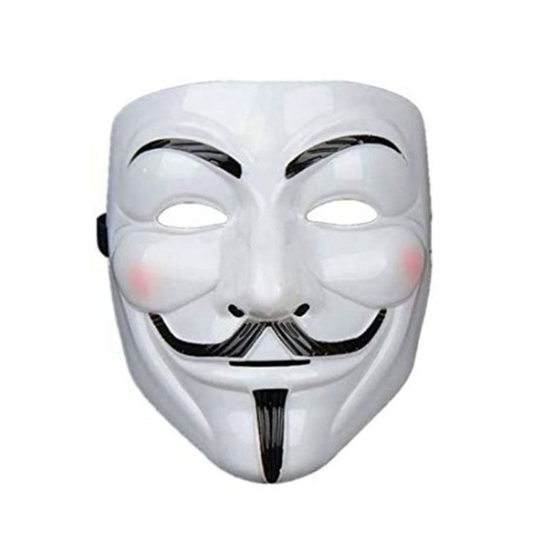 Anonymous V for Vendetta Mask Halloween Cosplay Party Mask