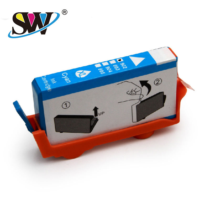 Cartridge Factory Zhuhai Factory Wholesale Inkjet Cartridge For Hp 906 902 Premium Quality For Hp Pro 6960 6968 6975 6978 Hp Ink Cartridge