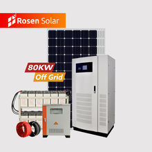New Design 60Kw 70Kw 80Kw Off Grid Complete Solar Power System 80Kw Inverter