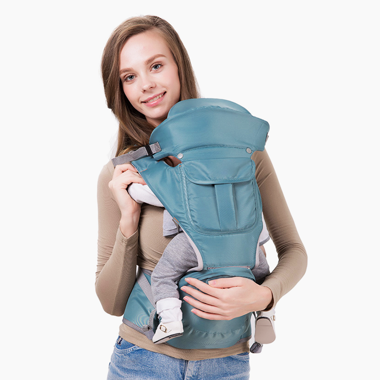 Multi-functional soft cotton baby sling wrap carrier private logo Baby stool baby wrap carrier hip seat Kangaroo Hipseat