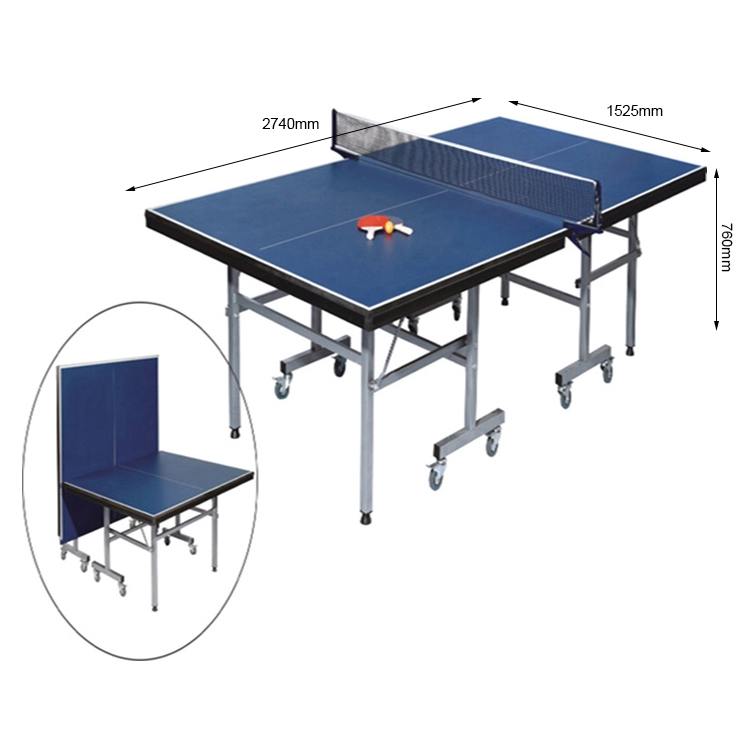Foldable Table Tennis Table And Removable Professional Tennis Tables For Sale