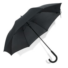 2019 high quality black super windproof straight umbrella
