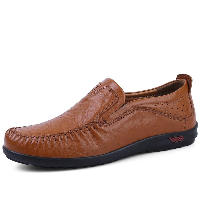 Real leather men's casual outdoor leather shoes