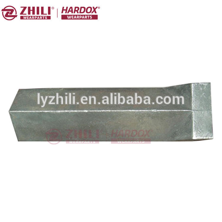 In stock Factory direct price qurry mining wear resistant high Mn steel ingots