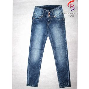 GZY 2 dollars push up dame jeans mode stocklot