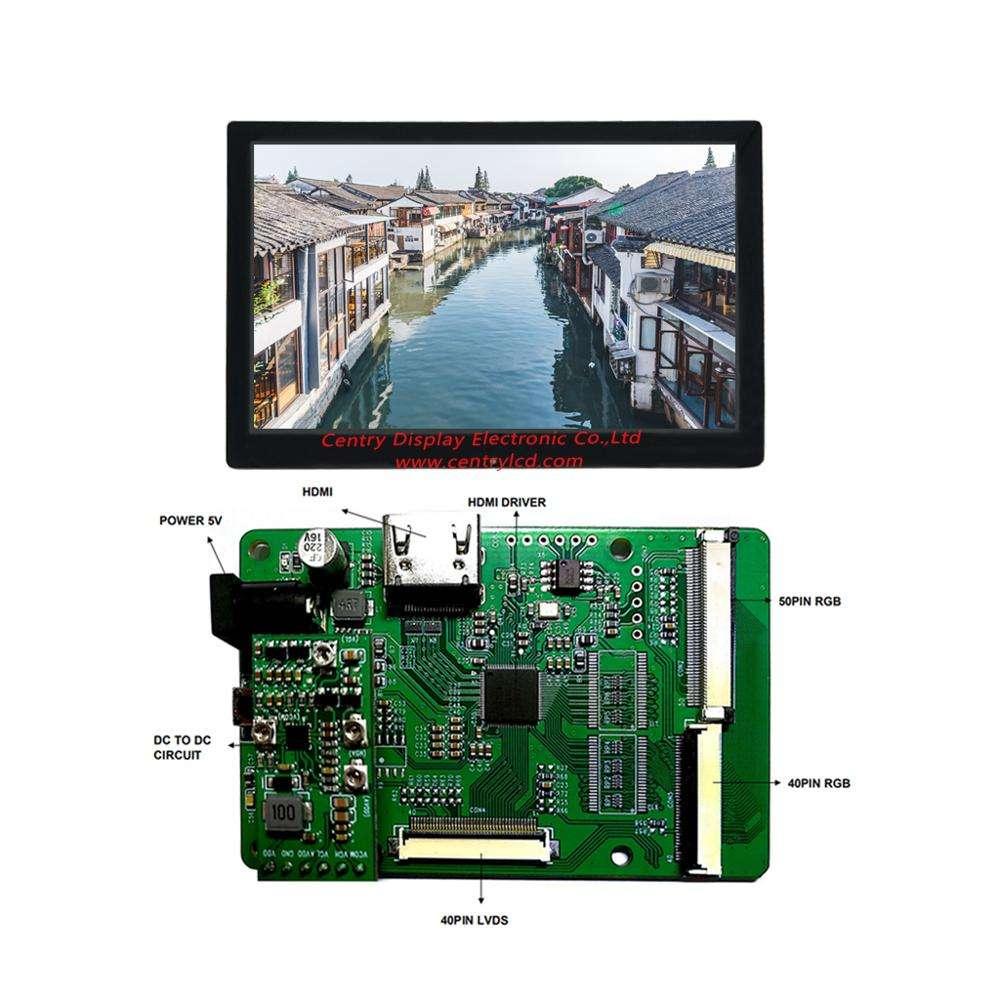 HDMI+DVI+VGA LCD Lvds Controller Monitor Board Kit for Panel Display G170J1-LE1
