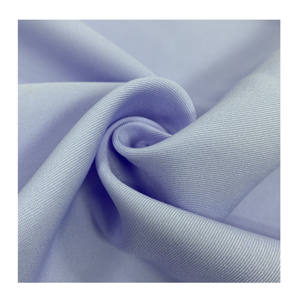 Good price 100% polyester dyed gabardine anti-static fabric for garment