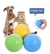 Pet Cat Toy LED Cat Ball USB Rechargeable Interactive Cat Toy Electric Automatic Rolling Ball Pet Toys