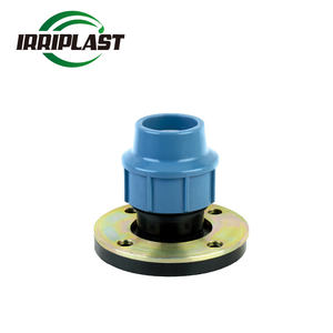 Pp compression fitting for irrigation DI Flange adapter Ductile cast iron pipe joints flange adaptor