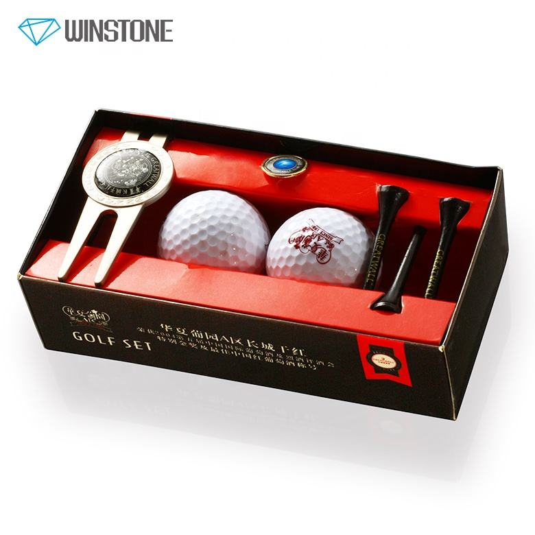 Custom Golf Divot Repair Tool and Hat Clip Ball Marker Set for Club Gifts