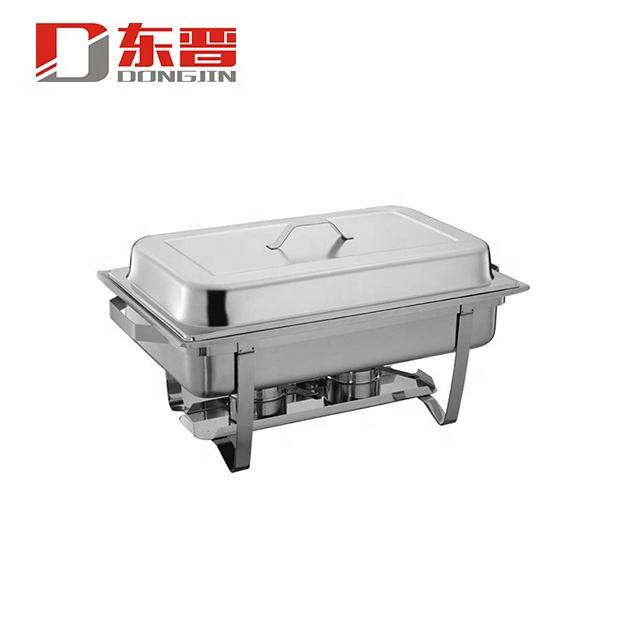 433 Stainless Steel Induction Chaffing Dish,Chaffing Dishes,9L Economy Chafing Dish
