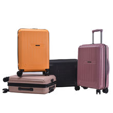 BUBULE Lightweight 100% PP Suitcase Luggage Spinner Wheels Trolley Case Bag Luggage