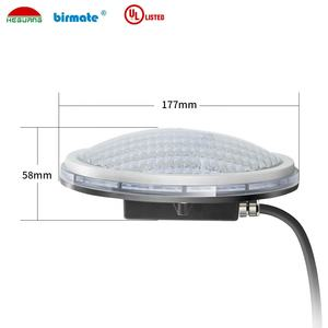 thickness 18W flat Swimming Pool Light IP68 LED underwater lamp Private Mode 12V