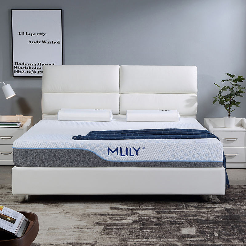 MLILY Health Care Customized Full Size Royal King Medium Firm Rolling Compress Memory Foam Bed Mattress Support