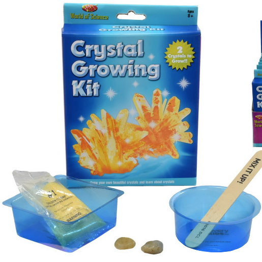 Crystal Growing Kit for Kids - Grow Your Own Crystals and Make Them Glow : Best Science Experiments Gifts for Kids, Boys & Girls