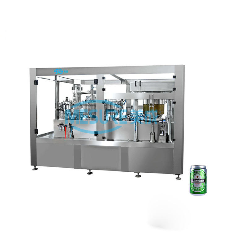 NEW high quality beer drinks canning machine equipment, low price small beer can bottle sealing filling machine