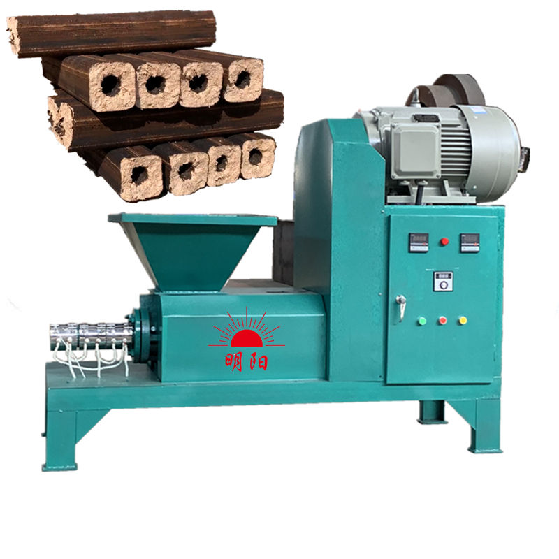 For sale Dia50mm Dia80mm Solid fuel biomass waste Saw dust briquette making machine