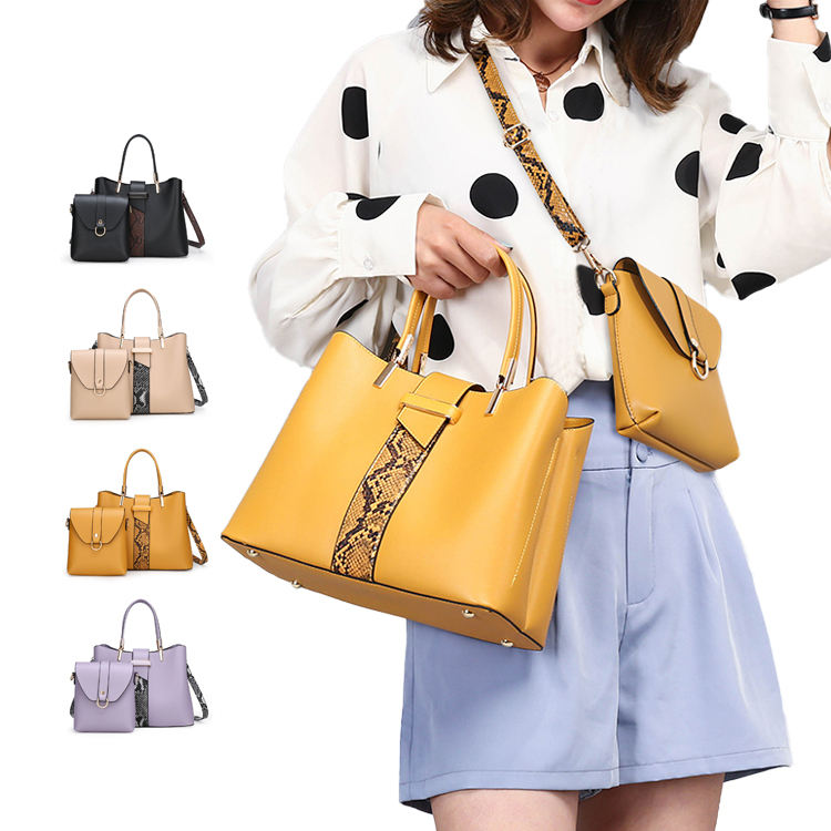 2021 Fashionable Luxury Design 2 In 1 Crossbody Ladies Hand Bag Purses And Handbags For Women