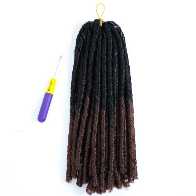 Premium Toyokalon Fiber Soft Dread Lock Braiding Synthetic Hair In Dubai