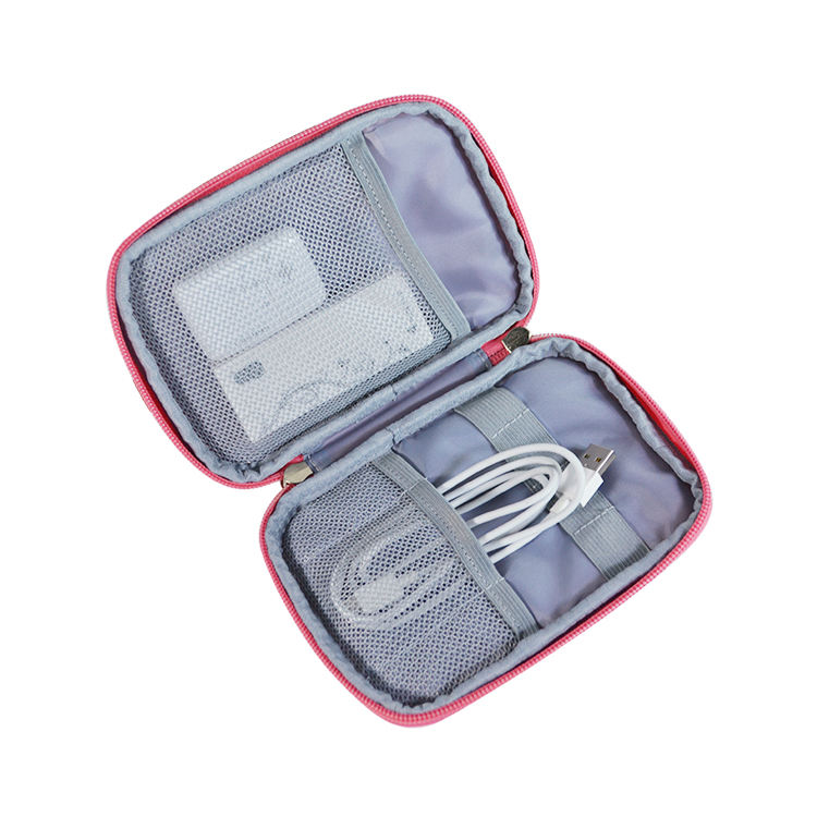 Outdoor Travel Portable Digital Storage Bag Waterproof Multi-function Data Cable Accessories Organizer Pouch