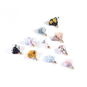Fabric Flower DIY Earring Accessories Jewelry Making Accessories Earrings Diy Making Parts Jewelry Supplies Wholesale China