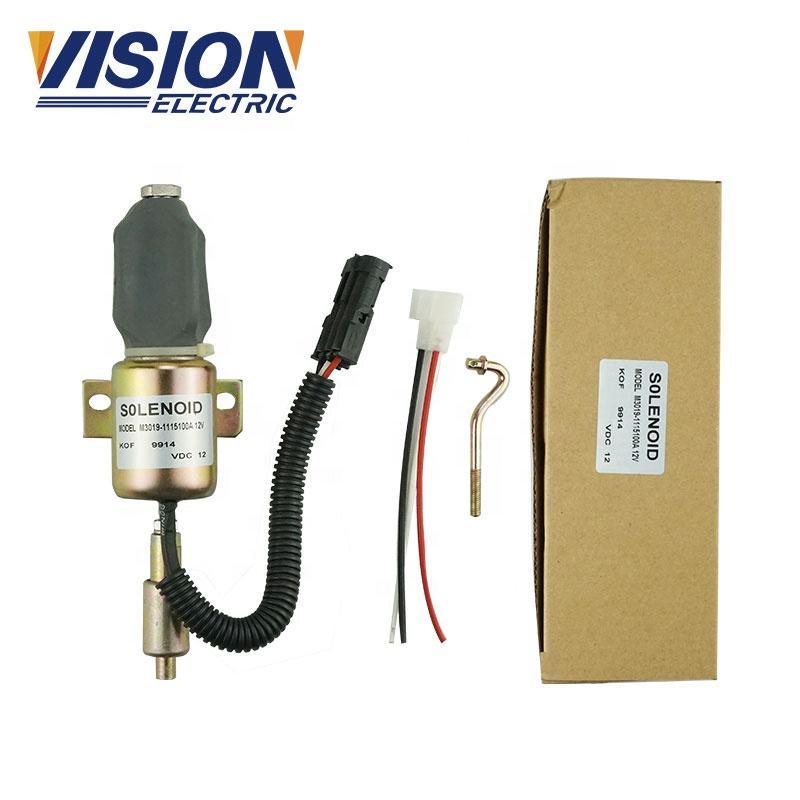Fuel Shutdown Solenoid Valve 1502-12A2U1B1S1A FOR Cummins DIESEL ENGINE 12V