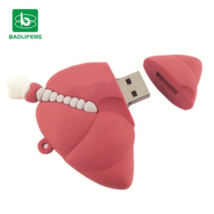 16GB 32GB Pendrive Novel Halloween Brain Model Gift USB Flash Drive Memory Stick