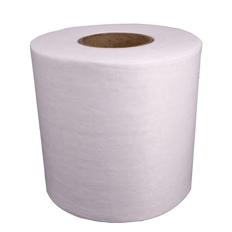 Spunlace Nonwoven Fabric For Wet Wipes Non Woven Embossed Fabric