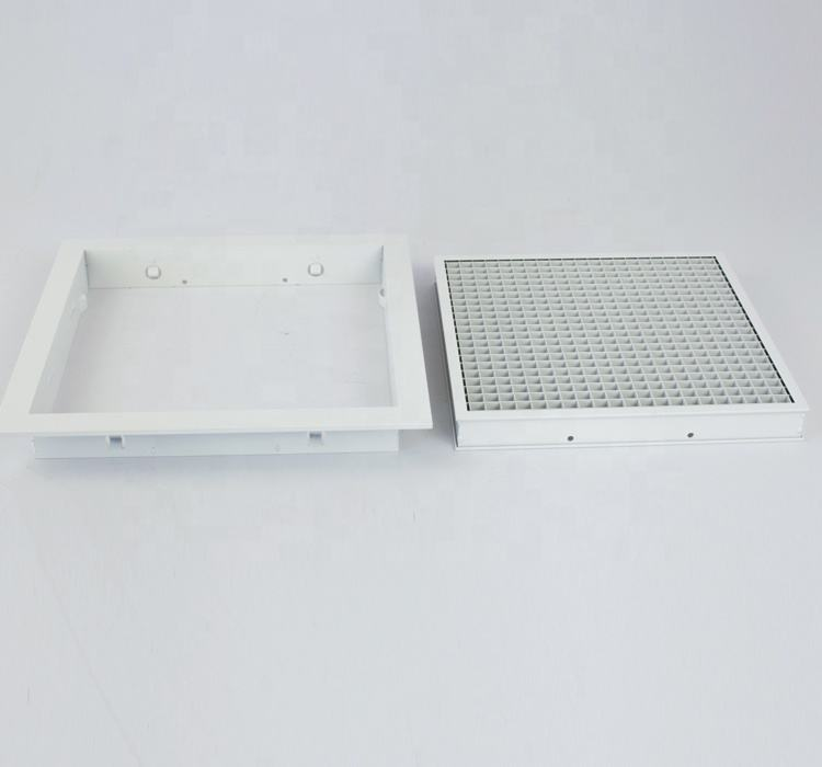 Air Conditioning Eggcrate Return Air Removable Core For Air Diffuser