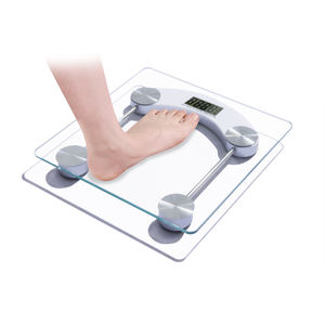 0.1kg 180kg Digital Glass Body Scale Step-on Weight Scale China Supplier Bathroom Scale