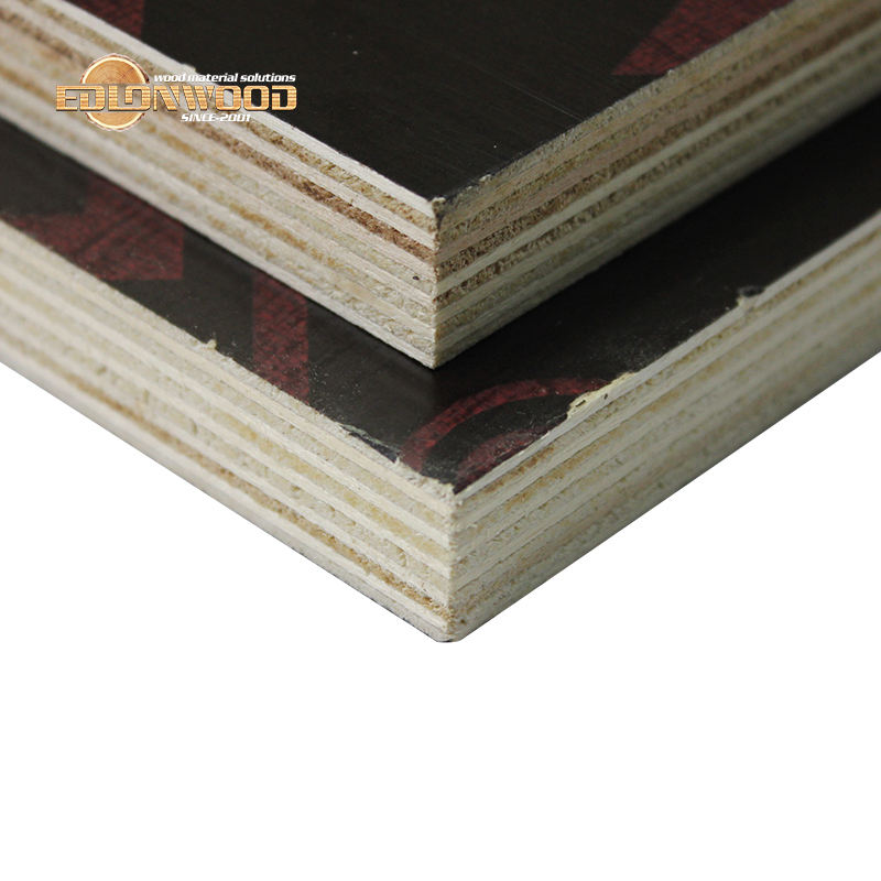 Edlon 9mm 12mm 15mm 18mm eucalyptus film coated 1200x2440mm formwork plywood
