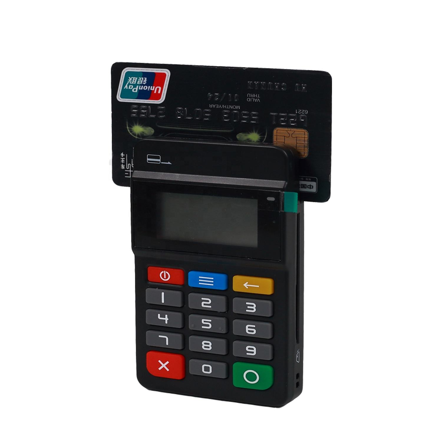 Automatic Card Payment System Machine Mobile Point Of Sale Mpos With NFC Reader HTY711