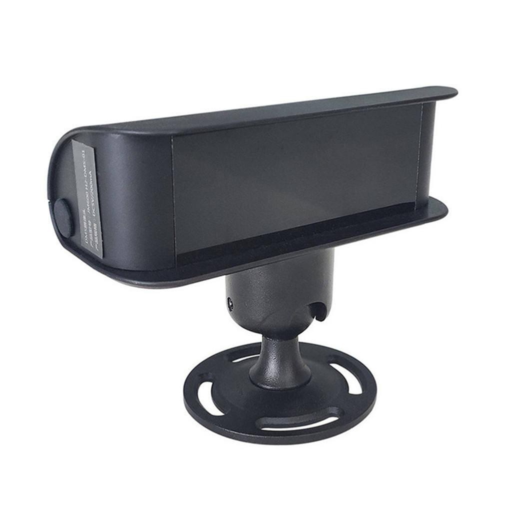 Controlador Solar Alarma de Coche ABS Ciervos Alerta de Sonido ultras/ónico energ/ía e/ólica Animal Ahuyentador Negro Color : Black Silver Piezas de autom/óviles